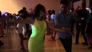 Karel Flores & Jorge Martinez social en BIG Salsa Festival