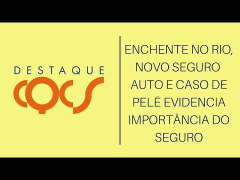 Imagem post: Enchente no Rio, novo Seguro Auto e caso de Pelé evidencia importância de Seguro