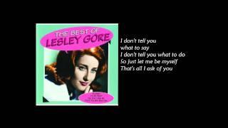 Lesley Gore - You Don't Own Me (Lyrics)