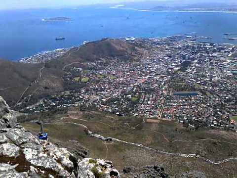 Table Mountain Panoramic View City Cape Town