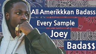 Every Sample From Joey Bada$$'s All-Amerikkan Bada$$