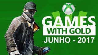 Jogos grátis da Xbox Live Gold de Junho 2017