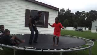 Black Parkour Kids