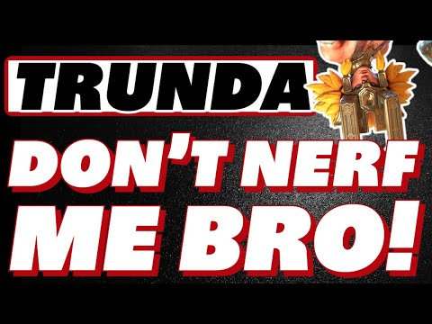 Trunda! - Don't nerf me bro! Why the dwarf hate? Raid Shadow Legends