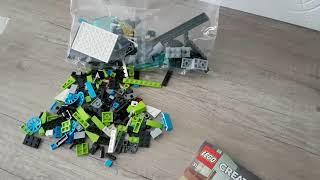 Pierwsza zabawa z lego creator 31074 cz. 2