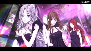 Kalafina / Blaze (Vocal Cover)【Sherie×와타아메×Rubyeye】