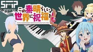 ►KonoSuba 2 Opening◄ ♫ Tomorrow ♫ Piano Cover