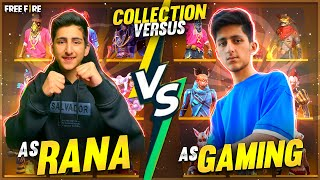 As Gaming And As Rana One More Time Collection Vs  And Funny Conversation Garena Free Fire