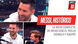 ¡Messi, histórico mano a mano! Disfruta la nota completa