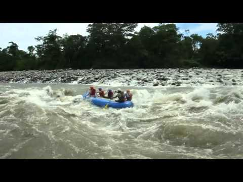 White Water Rafting in the Amazon with G Adventures
