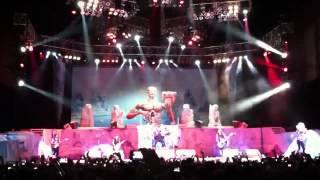 Iron Maiden Seventh Son Eddie appearance during iron maiden