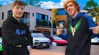 10 Richest YouTubers of 2019 (Logan Paul, MrBeast, PewDiePie, David Dobrik)