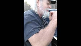 Unc David Teaching Us To TURKEY CALL With a COFFEE STRAW ~ 1