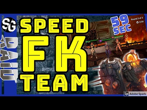 RAID SHADOW LEGENDS | FK 20 FASTEST SPEED RUN WITHOUT ZAVIA?