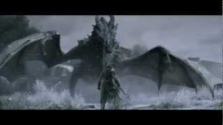 Skyrim trailer - dubstep version