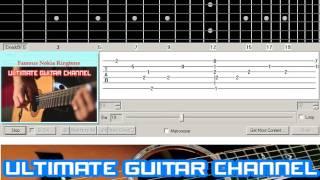[Guitar Solo Tab] Famous Nokia Ringtone (BASIC)