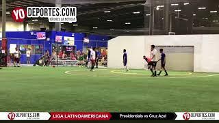 Se dieron con todo Presidentials vs Cruz Azul Liga Latinoamericana Jueves