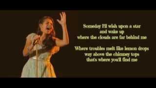 Somewhere Over the Rainbow- Carly Rose Sonenclar (The X Factor US) Lyrics