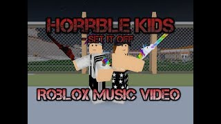 Horrible Kids By Set It Off (Roblox Music Video)