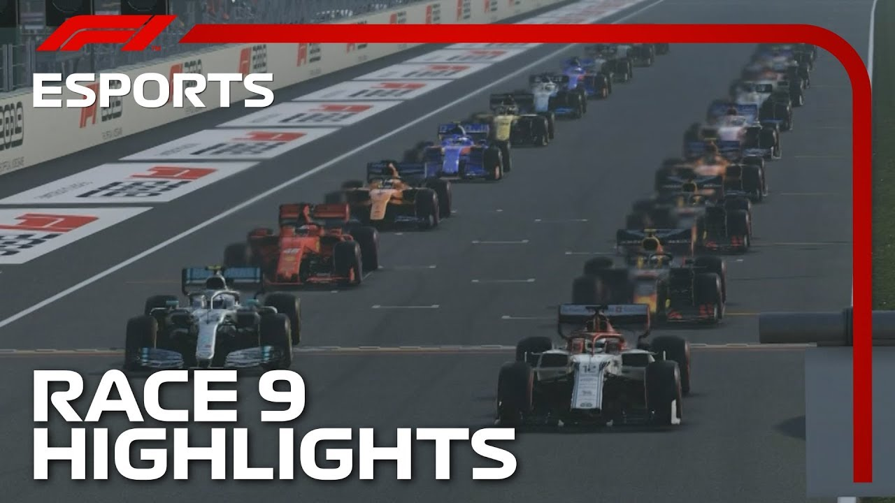 F1 Esports Pro Series 2019: Race Nine Highlights