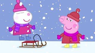 Peppa Pig Français ❄️Hiver!   Peppa Noël 🎁Dessin Animé