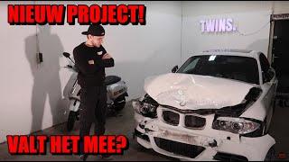 BMW 135i SCHADE AUTO GEKOCHT|NIEUW PROJECT|CARBON ONDERDELEN| Twins.tv #36