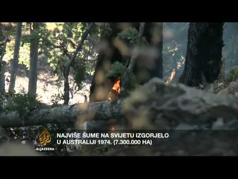 Kontekst: Vatrena stihija na Balkanu - Al Jazeera Balkans