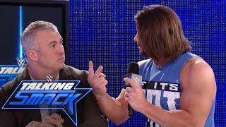 AJ Styles insists Shane McMahon send him to WrestleMania: WWE Talking Smack, Feb. 28, 2017
