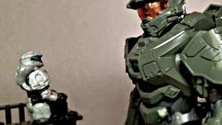 Master Chief meets Sarah Palmer (Halo Mega Bloks/SpruKits animation)