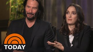 Keanu Reeves & Winona Ryder On New Film 'Every Time We See Each Other It Is A Meet Cute' | TODAY