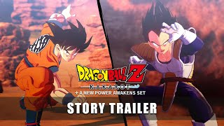 Relive the entire series with Dragon Ball Z: Kakarot + A New Power Awakens Set story trailer