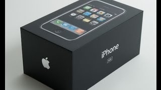 iPhone 2G 8GB Unboxing