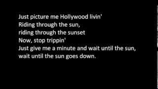 Kid Ink - Sunset - Lyrics