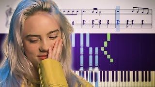 wish you were gay (Billie Eilish) - Piano Tutorial + SHEETS
