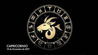 Horóscopo Diario - Capricornio - 18 de Noviembre de 2017