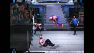 Kurt Angle gets an Unknown Move  in Smackdown Here Comes the Pain
