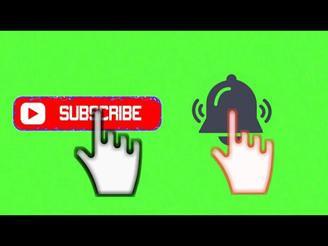 Download thumbnail for Green screen subscribe intro with mp3