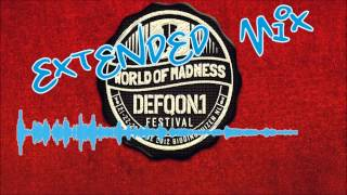 Headhunterz, Wildstylez & Noisecontrollers - World of Madness EXTENDED MIX Defqon 1 2012