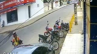 Câmeras registram furto em loja de construção em Palmeira