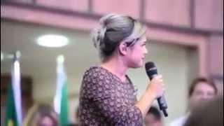 Daniela Araújo - congresso Umadp
