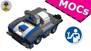 [~MOC~] Lego 31033  - Custom Tank - Aca-D-brick Instruction