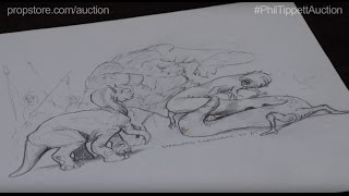 STAR WARS EP IV: A NEW HOPE - Original Holochess Creature Sketches