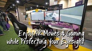 Enjoy 4K Movies & Gaming while Protecting Your Eyesight | 享受4K电影和游戏,同时保护您的视力