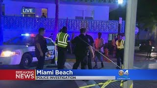 Police Investigate Gunfire On Miami Beach For Second Night