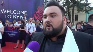 Eurovision 2017 - Red carpet - Croatia - Jacques Houdek