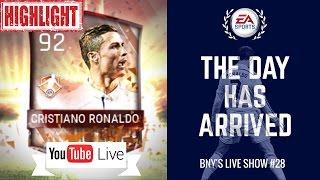 [HIGHLIGHTS] LIVE FIFA MOBILE 17 ALL PRO PACK OPENING HUNT FOR MOTM CR7! LET'S GO! #28 | FIFA Mobile