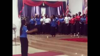 """Cover of the song """"Way Maker"""" by Sinach at Philadelphia Central Church's 37th Anniversary Concert"""