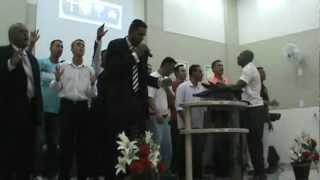 IEQ SANTANA Visita da Comunidade Vida Nova - Culto de Missões 18/03/2012