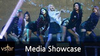 CLC(씨엘씨) '미유미유'(Meow Meow) 무대 첫 공개 (1080p) @언론쇼케이스