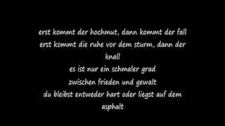 "BUSHIDO - Hochmut (Lyrics on Screen) ""Diss Kay One"""